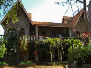 Experience this French Chateau in the middle of Madagascar.
