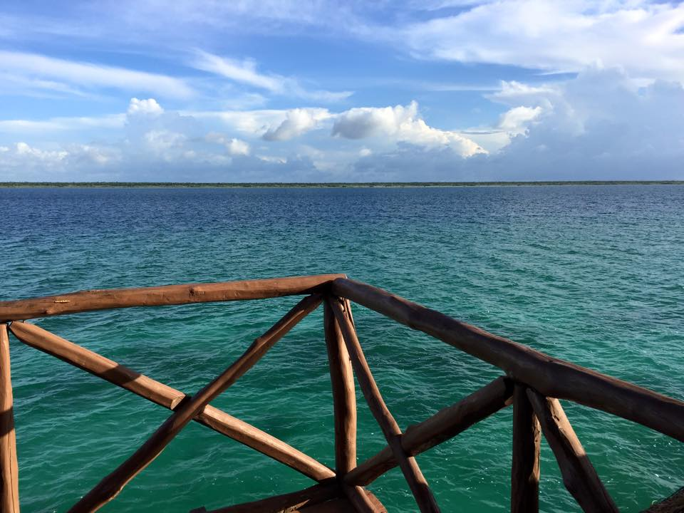 bacalar lake colours